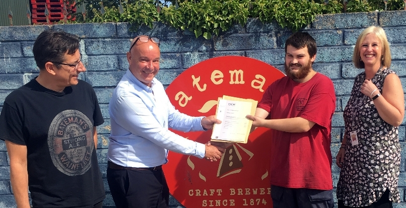 Qualifications success at the Brewery
