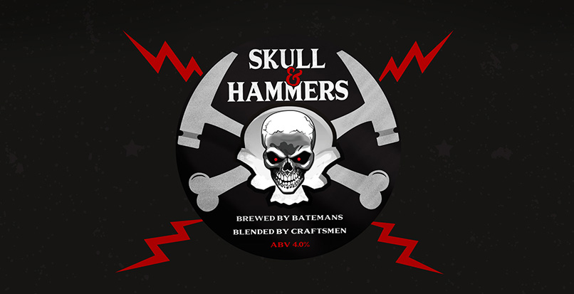 Skull and Hammers – a beer in demand!