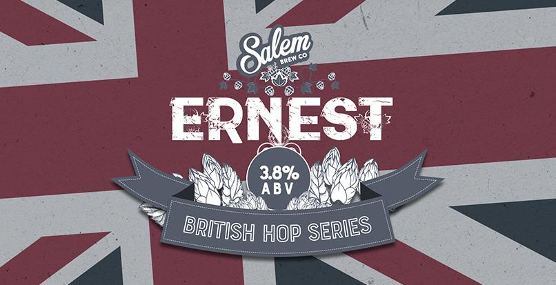 Meet Ernest, our latest Salem Brew Co beer