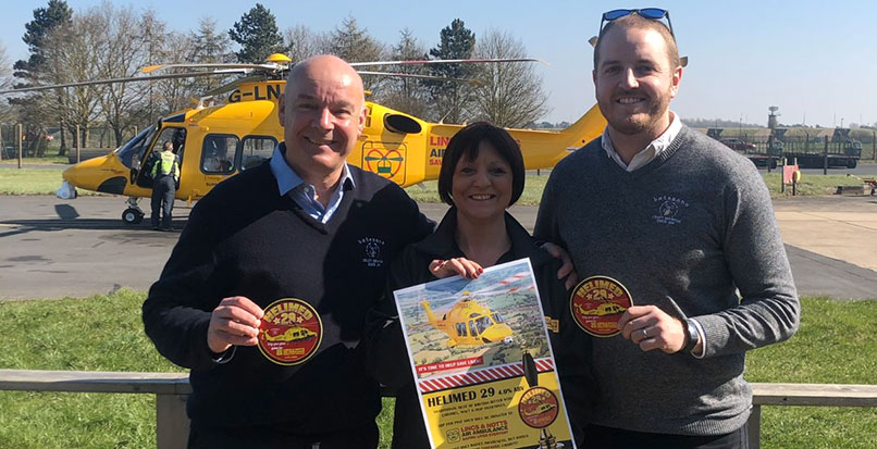 Batemans launch Helimed 29 to support the Lincs & Notts Air Ambulance