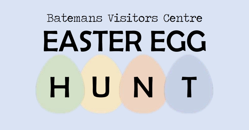 Easter Egg Hunt @ Batemans Visitors Centre